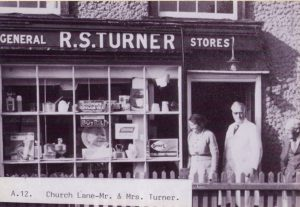 Turner's Shop Church Lane
